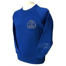 School Sweatshirt with Logo