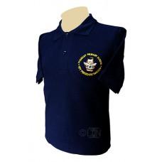 Navy Polo Shirt with Logo