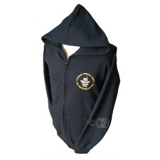 PE Full Zip Hoodie with Logo